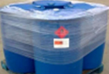 HDPE Drums on Pallet
